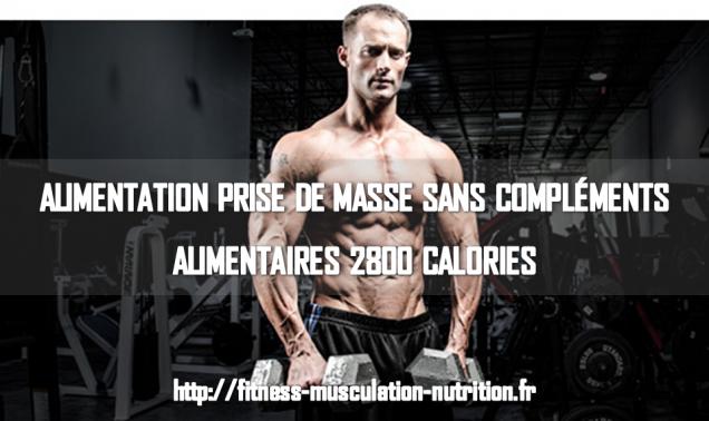 Alimentation prise de masse musculaire - Programme alimentaire prise de masse musculaire ...