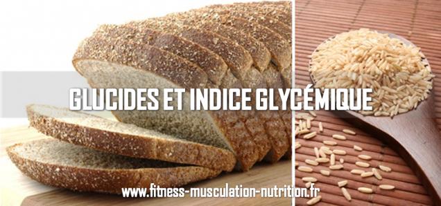 glucides et indice glycémique