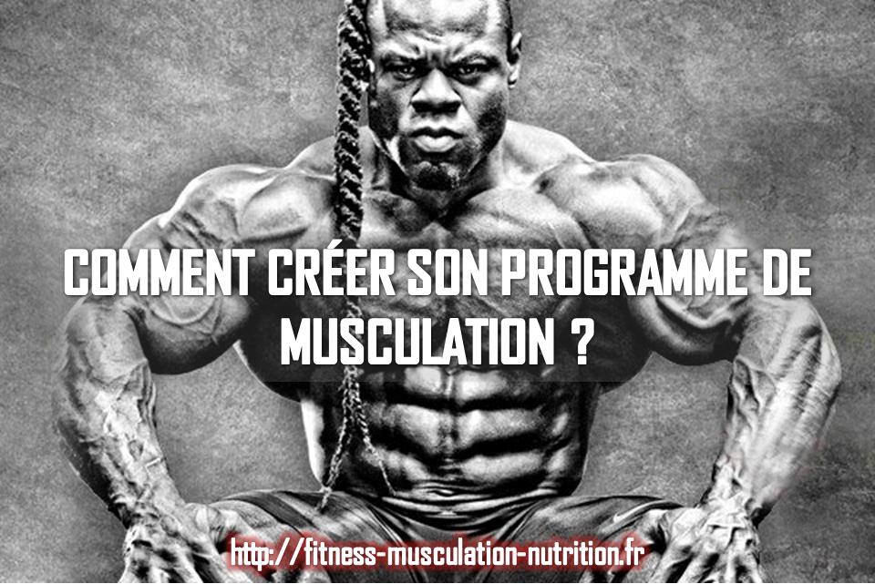 Comment cr er son programme de musculation for Fitness musculation