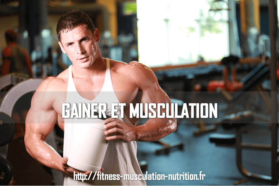 Gainer et musculation for Complement musculation