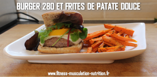 burger patate douce