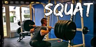 squat musculation
